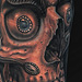 Tattoos - Tibetan Skull Tattoo - 75753